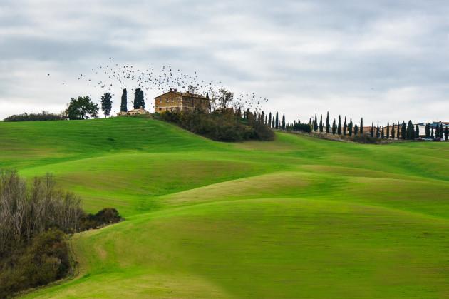 13 июня - Тоскана, долина Орча